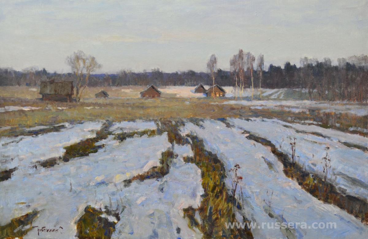 Spring Evening by Sergey Nebesihin