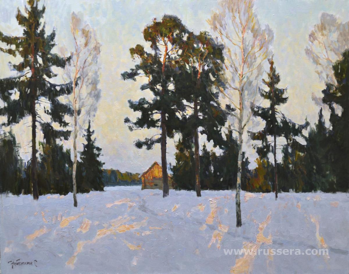 Sun is setting by Sergey Nebesihin