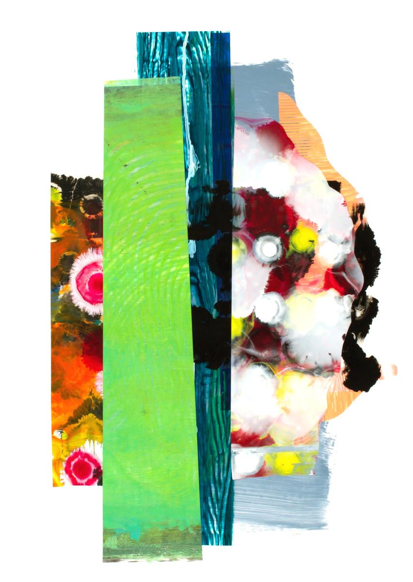 A Very Bold Green Swath by Mary Zeran