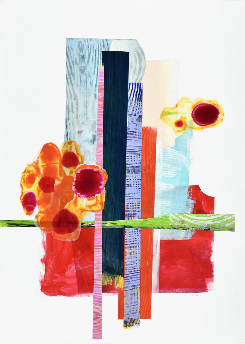 Periwinkle Plaid by Mary Zeran