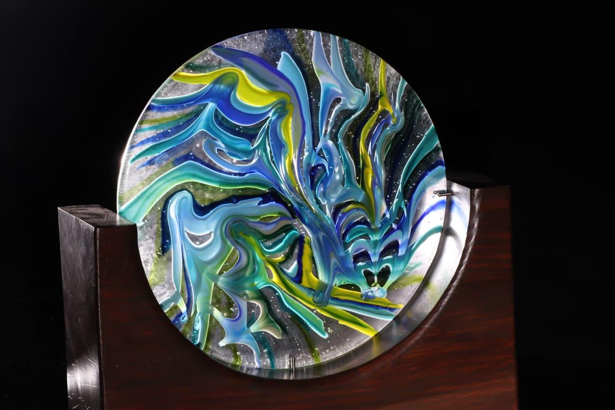 Metamorfosen by Linda van Huffelen  Image: Metamorfosen - gemarmerd glas