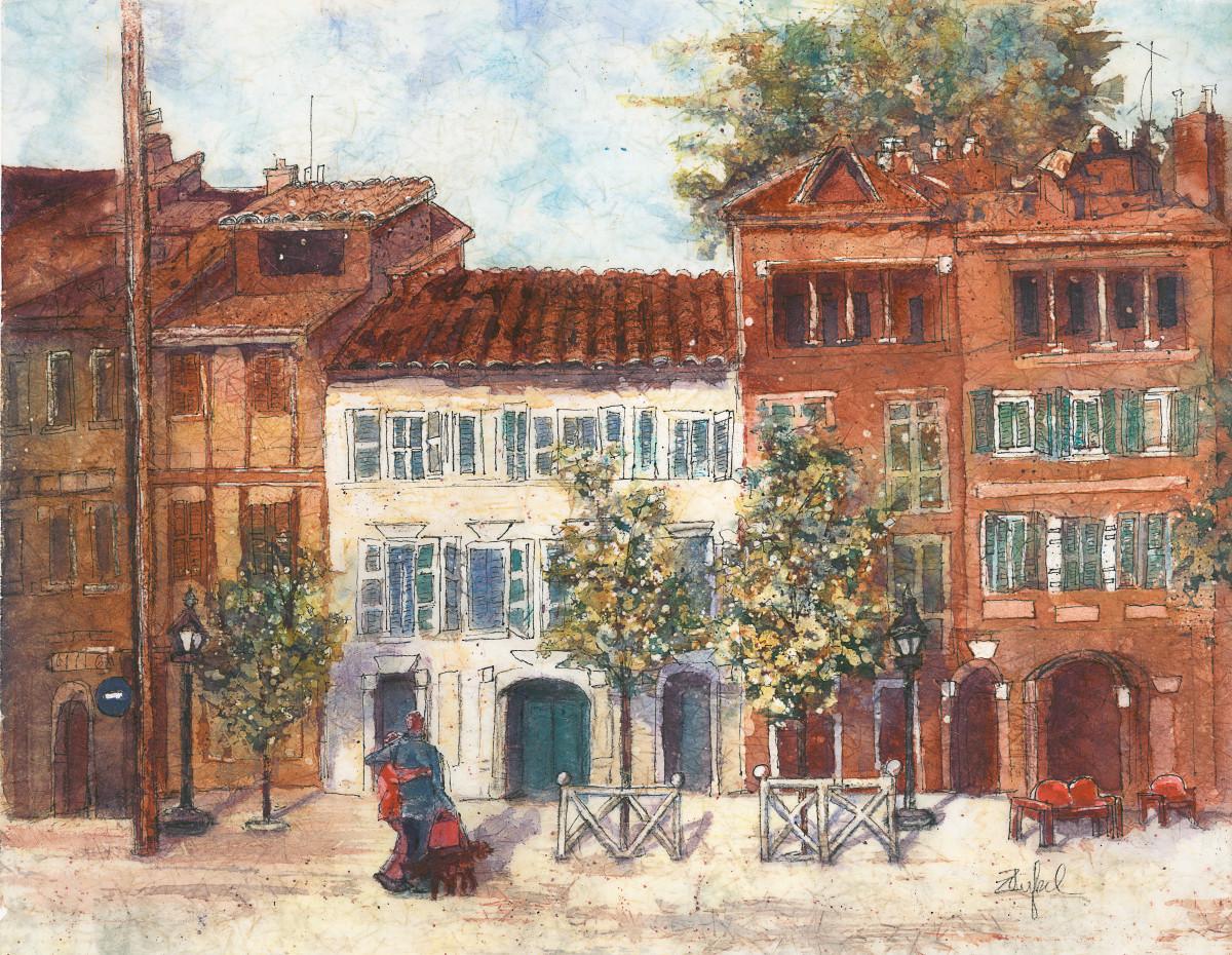 Le Trek Toulouse/Batik by Rebecca Zdybel