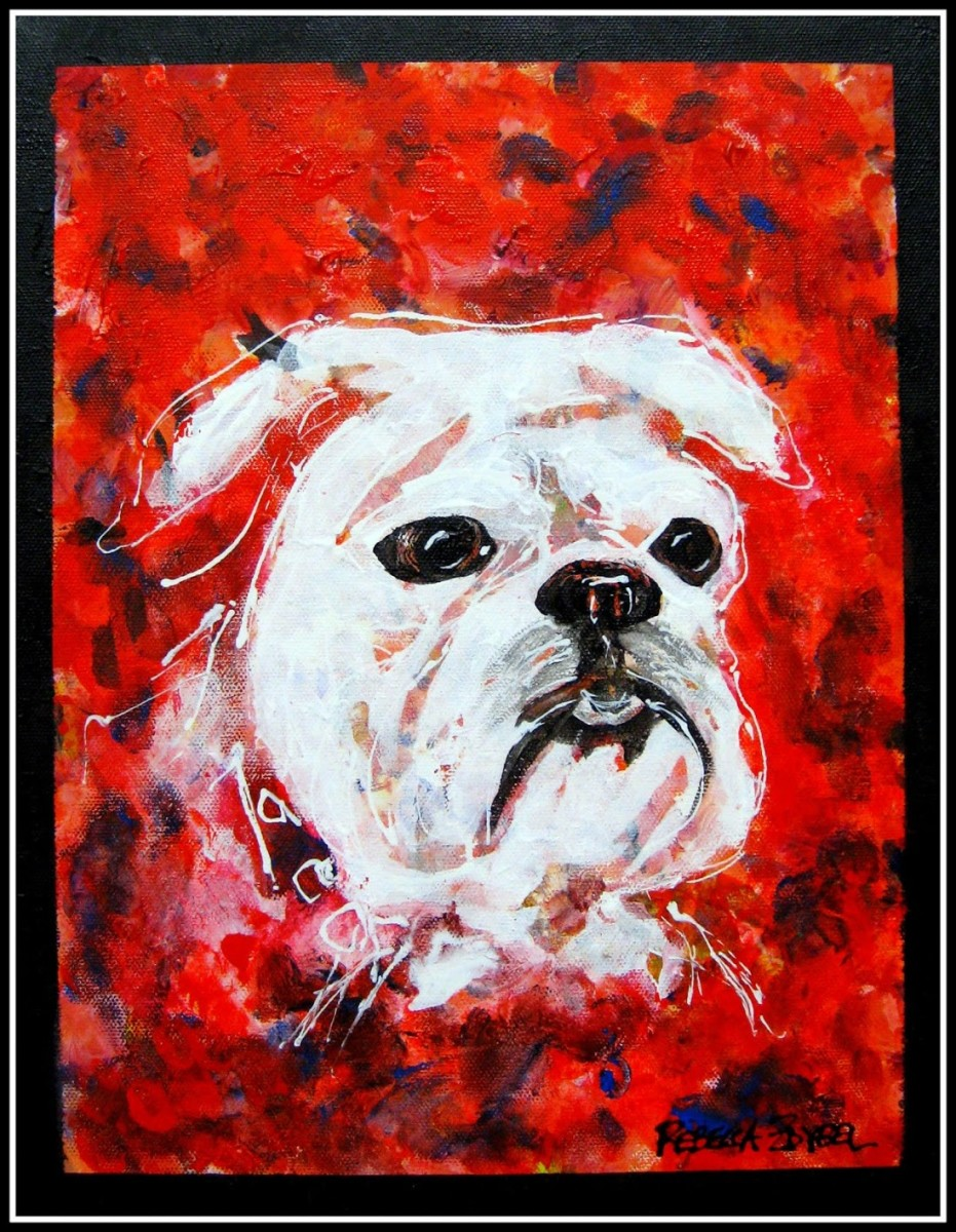 Arty Party Bulldog