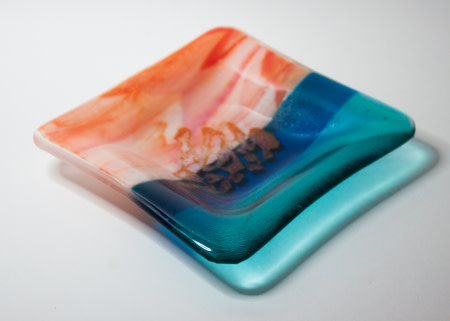 Kimberley Coast  small plate I by Nada Murphy