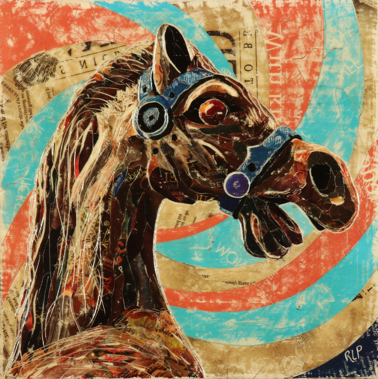 Untitled (Wooden Carousel)
