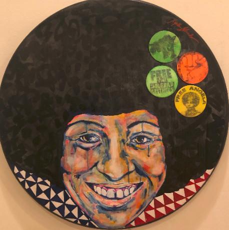 Angela Davis - Activist Wanted by Lynthia Edwards