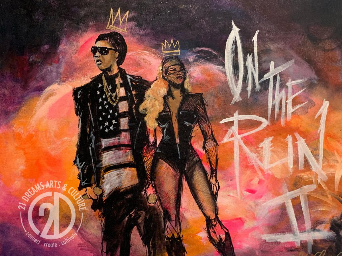 """Jay & Bey' - """"Runnin'"""" by Milton Madison"""