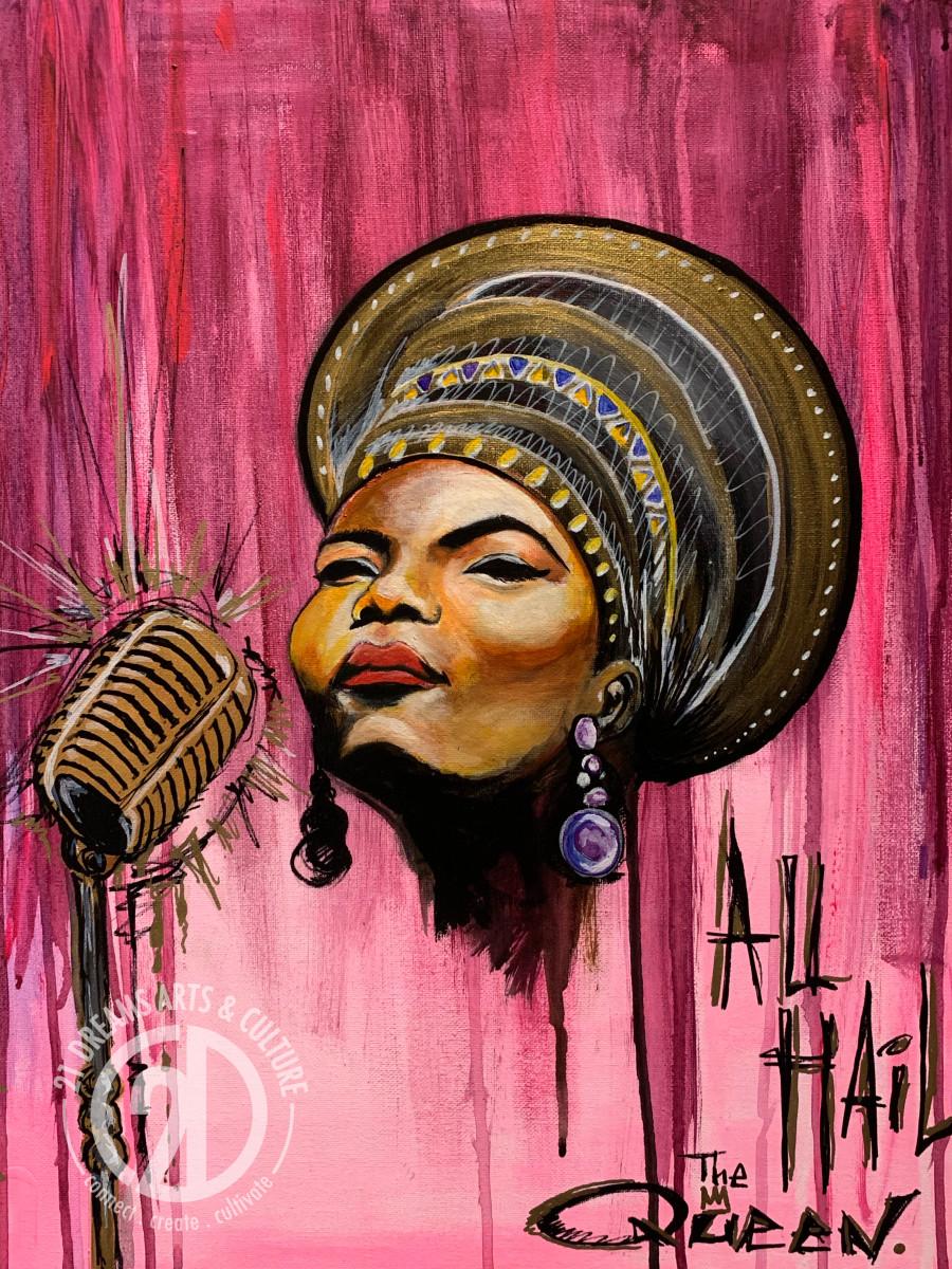 "Queen Latifah - ""All Hail"" by Milton Madison"