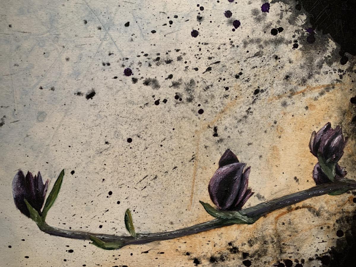Somewhere Between Blue & Purple by William Logan
