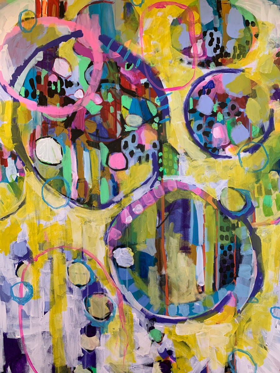 Bubbles. Graffiti. Sunshine.