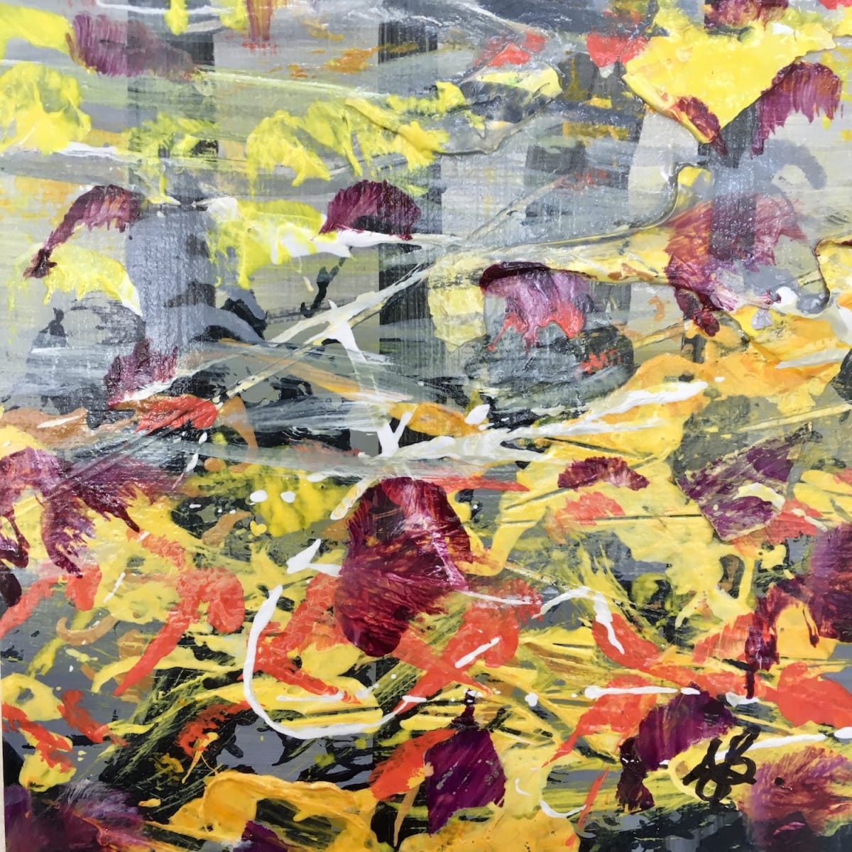 Awesome Autumn no.3 by Julea Boswell