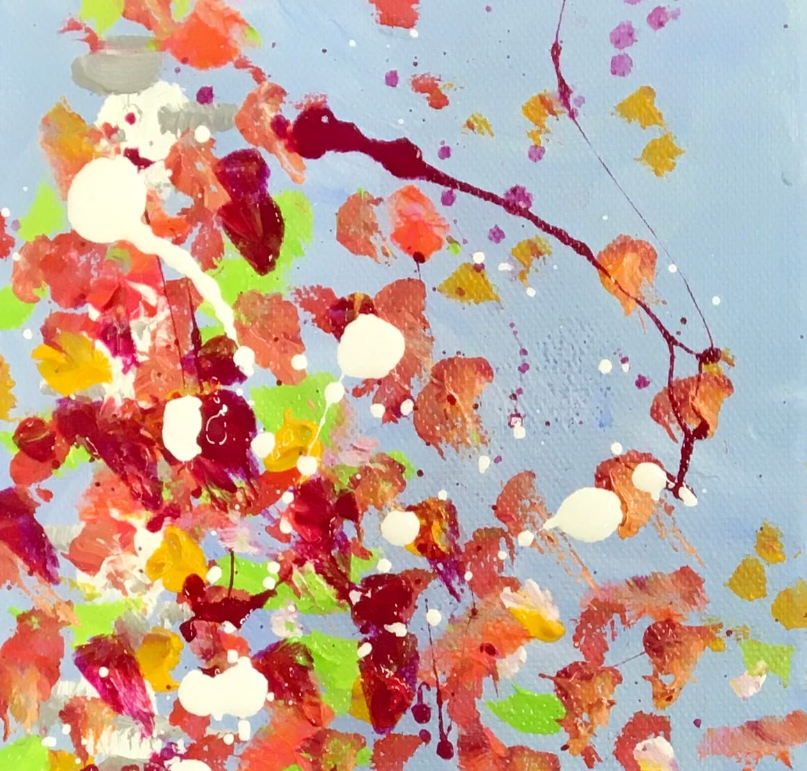Fall Confetti no.1 by Julea Boswell