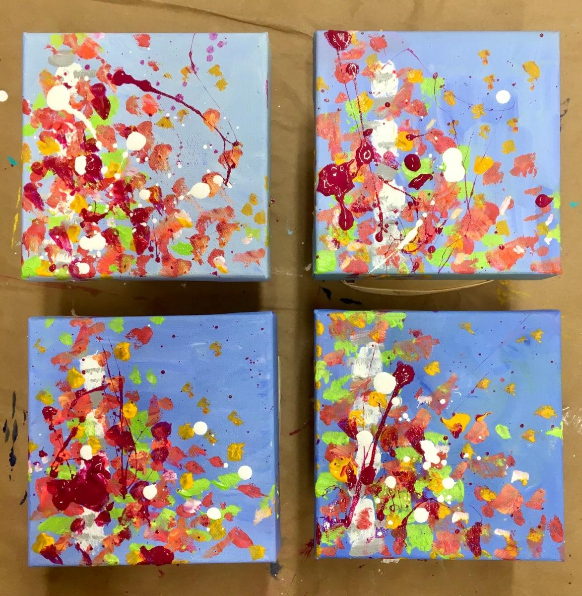 Fall Confetti no.4 by Julea Boswell