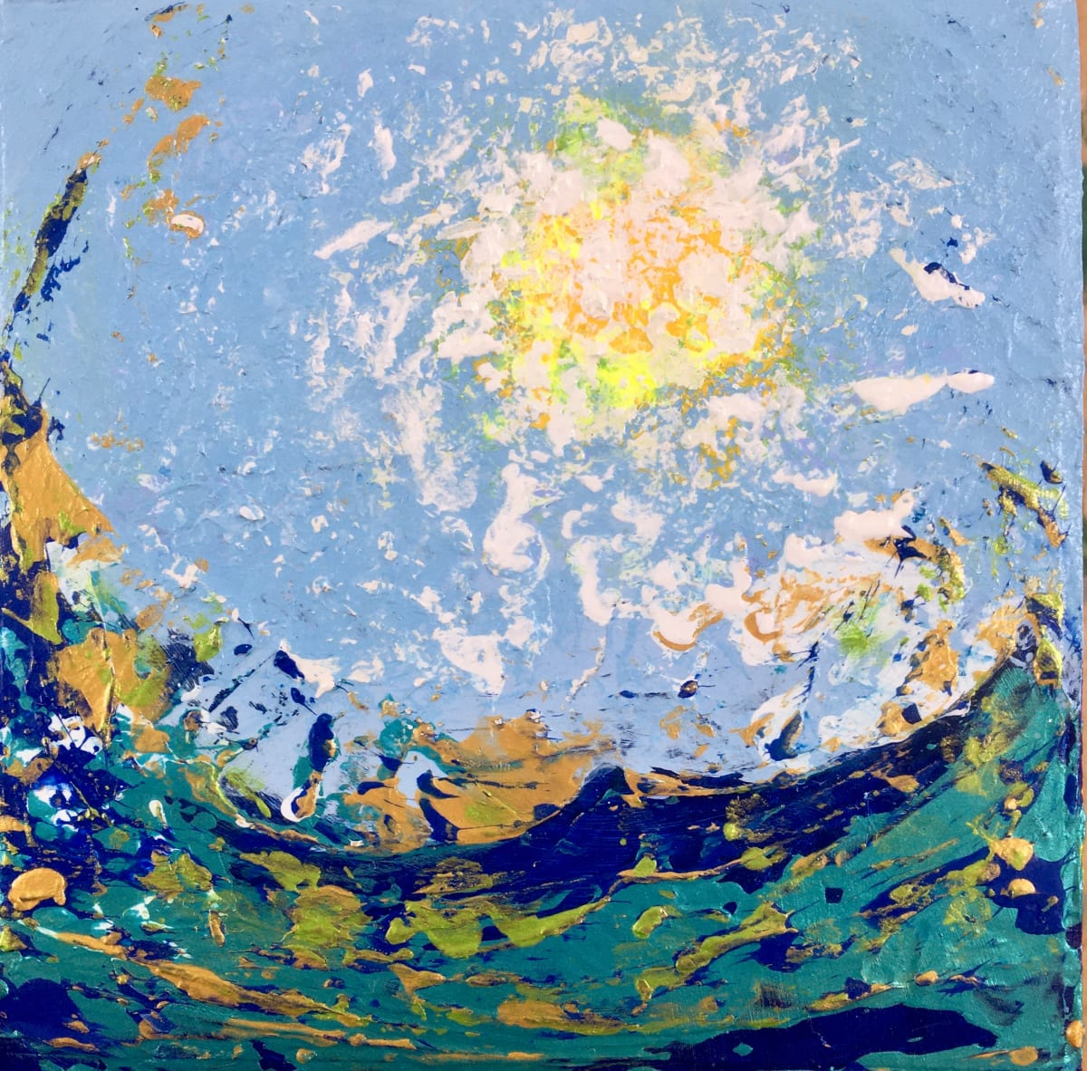 Sun and Sea no.4 by Julea Boswell