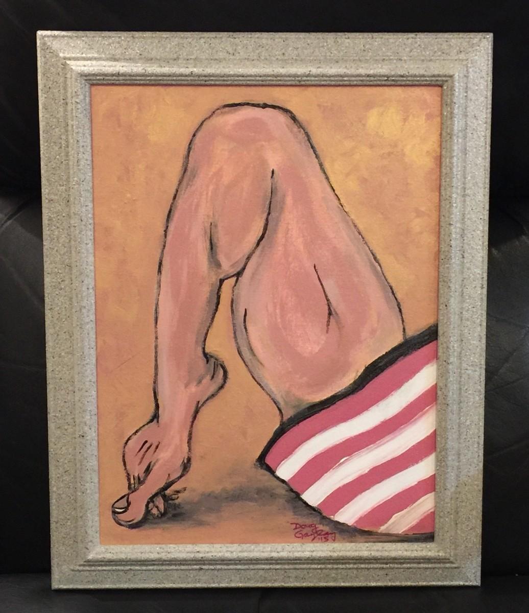 A LEG UP ON YOU by Doug Gazlay