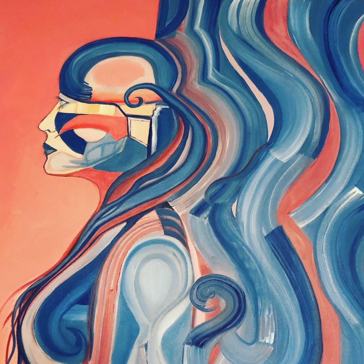 Robo Girl by Judith Estrada Garcia
