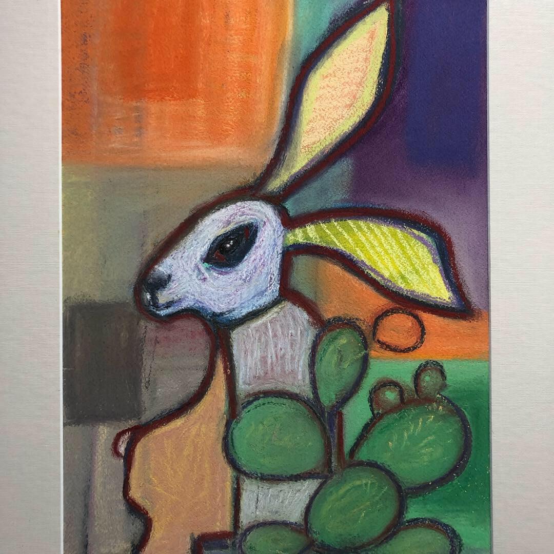 Spiny Hare by Judith Estrada Garcia