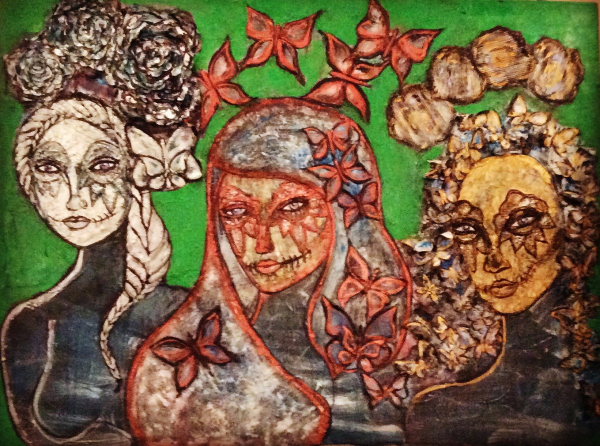 Las Tre Mujeres by Judith Estrada Garcia