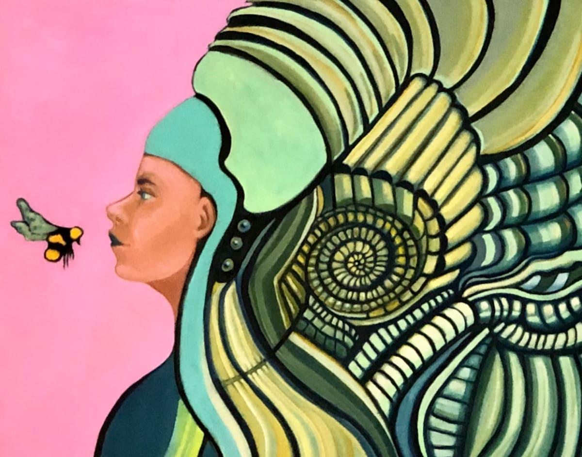 Aztec Godess by Judith Estrada Garcia
