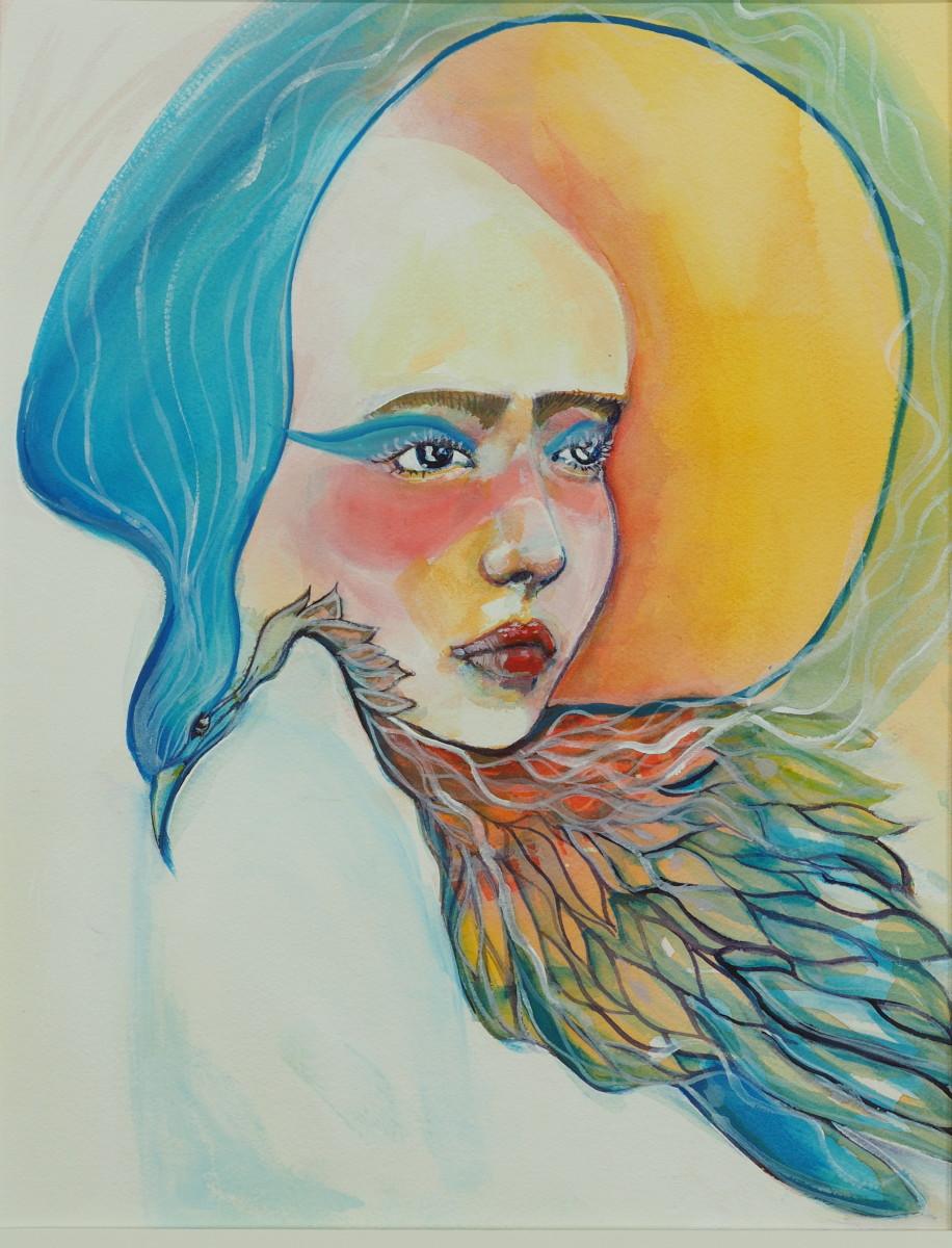 Crow Woman by Judith Estrada Garcia