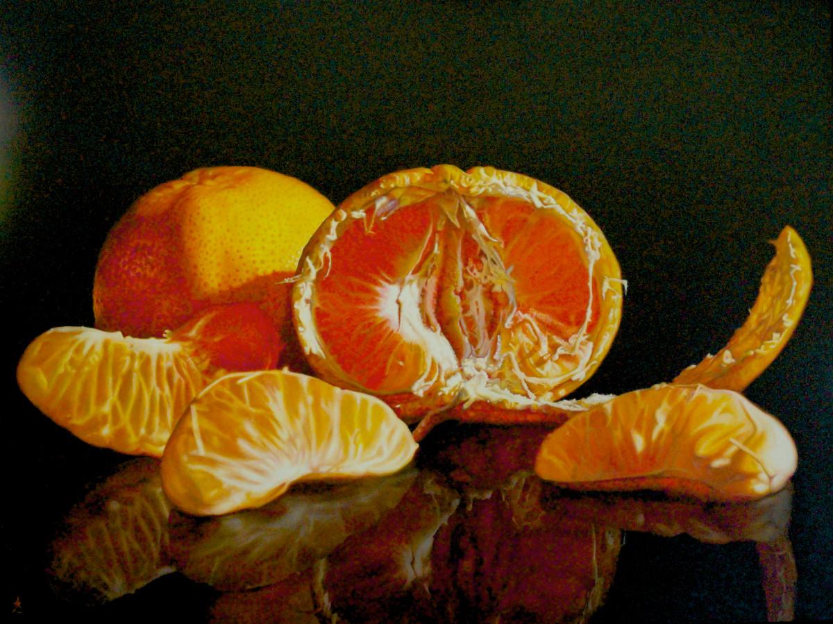 Vibrant Mandarin
