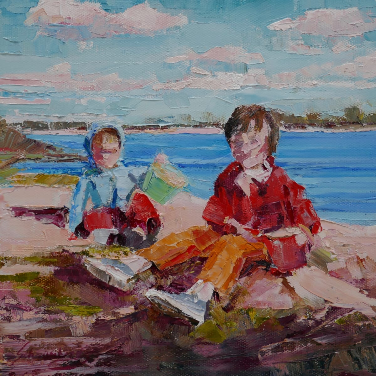 By the Bay by Debra Schaumberg