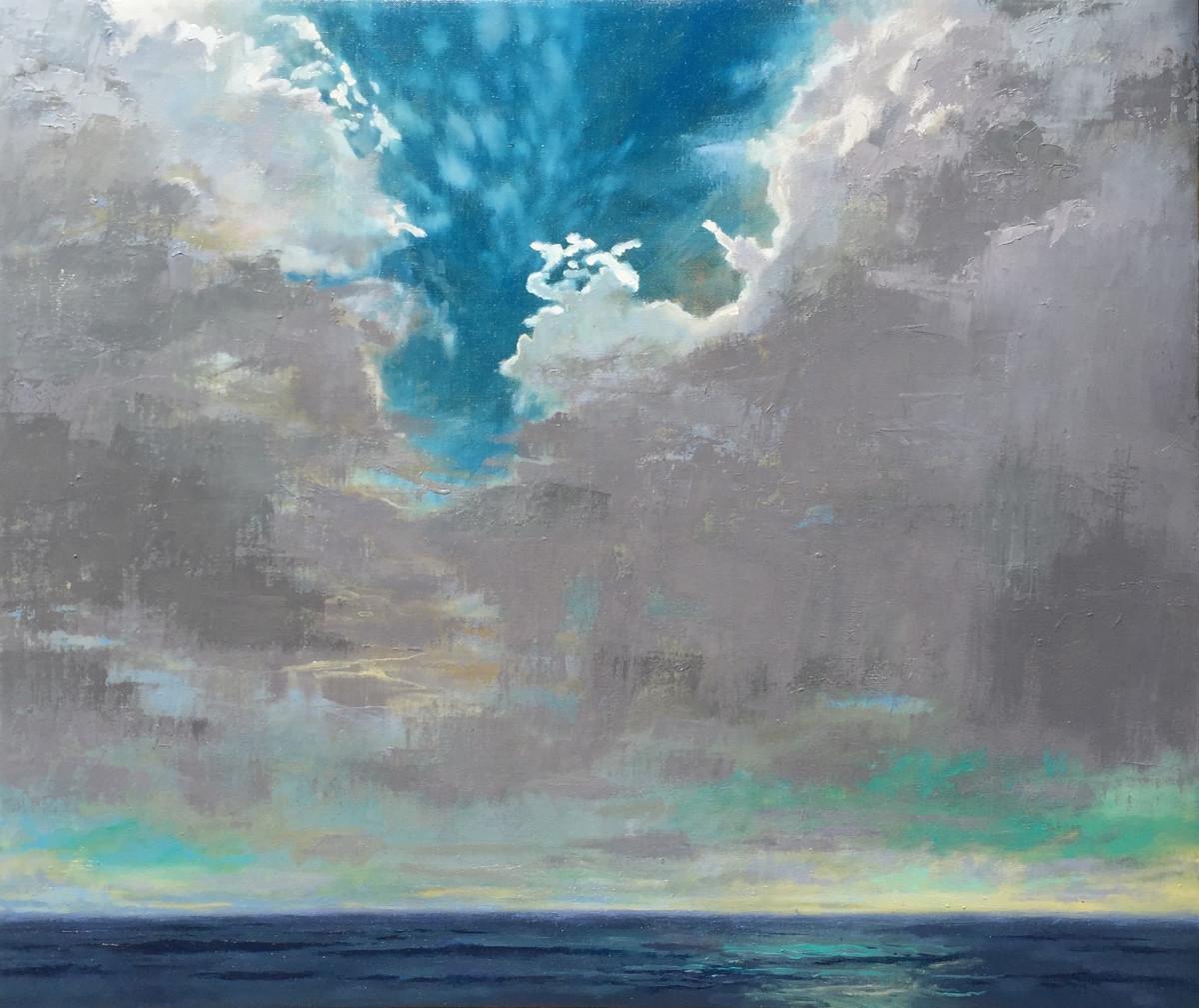 Sky Over Long Sands by MJ Blanchette