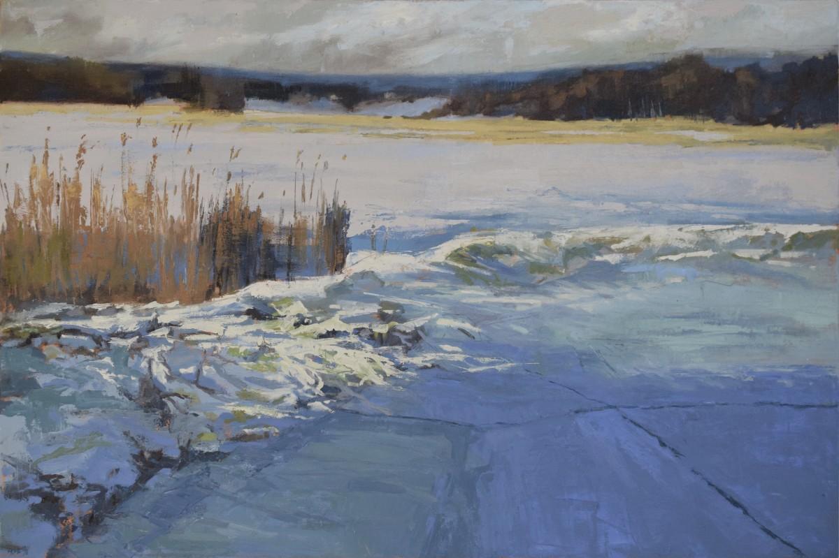 Braveboat Ice Field by MJ Blanchette