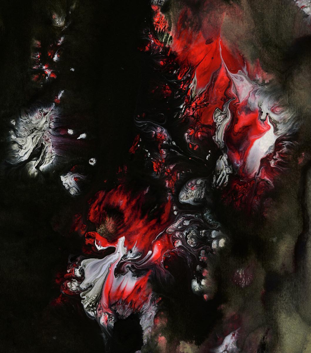BLAZING FIRES #6 by Hannah Thomas