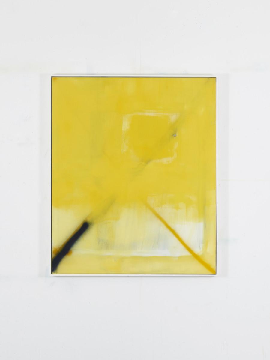 A yellow reflects