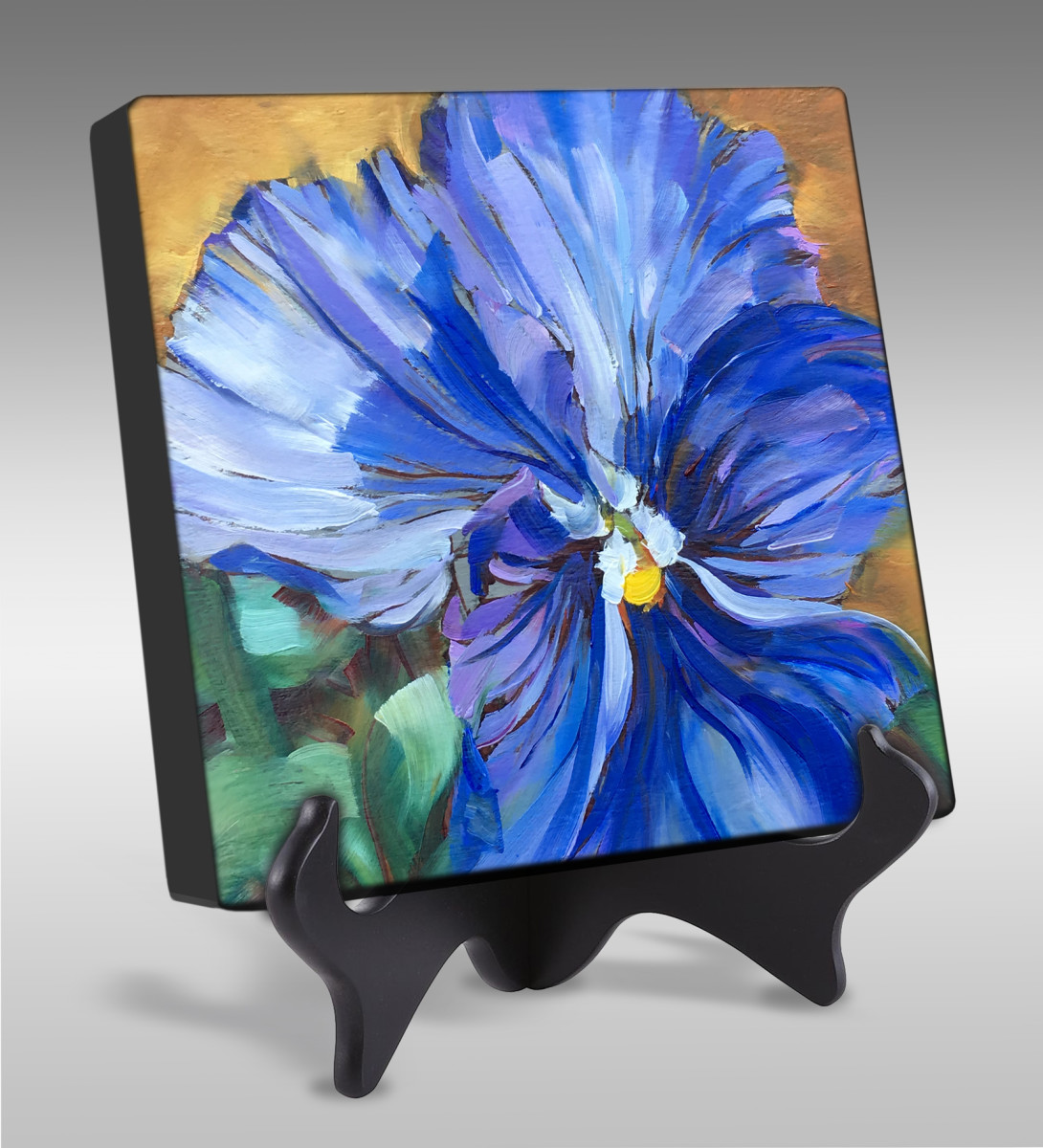 Personality Pansy by Pat Cross