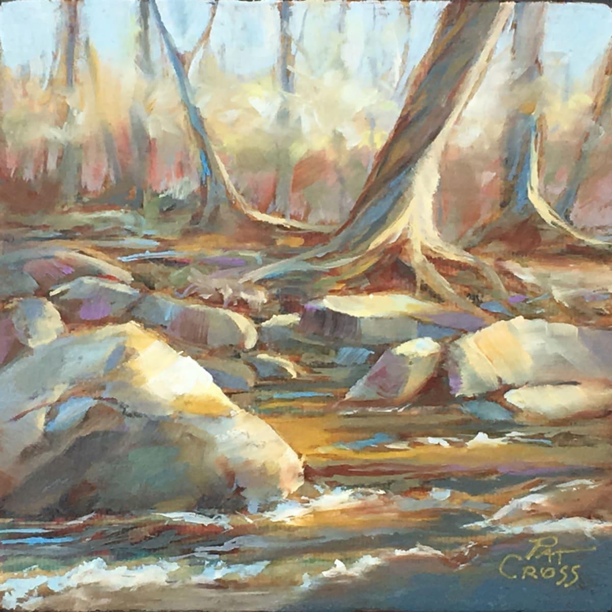 Along the River Bank III by Pat Cross