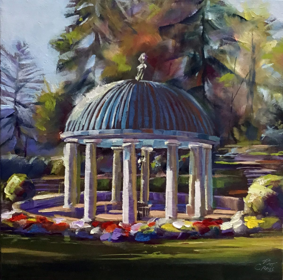 Greenbrier Gardens Spring House by Pat Cross