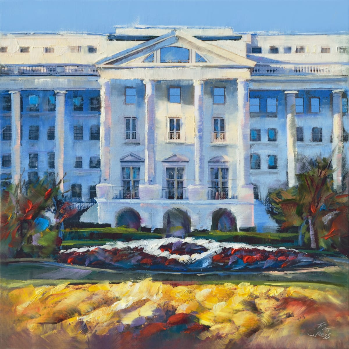 Greenbrier Hotel Glory by Pat Cross