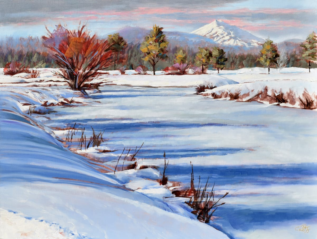 Red Winter Willow by Pat Cross