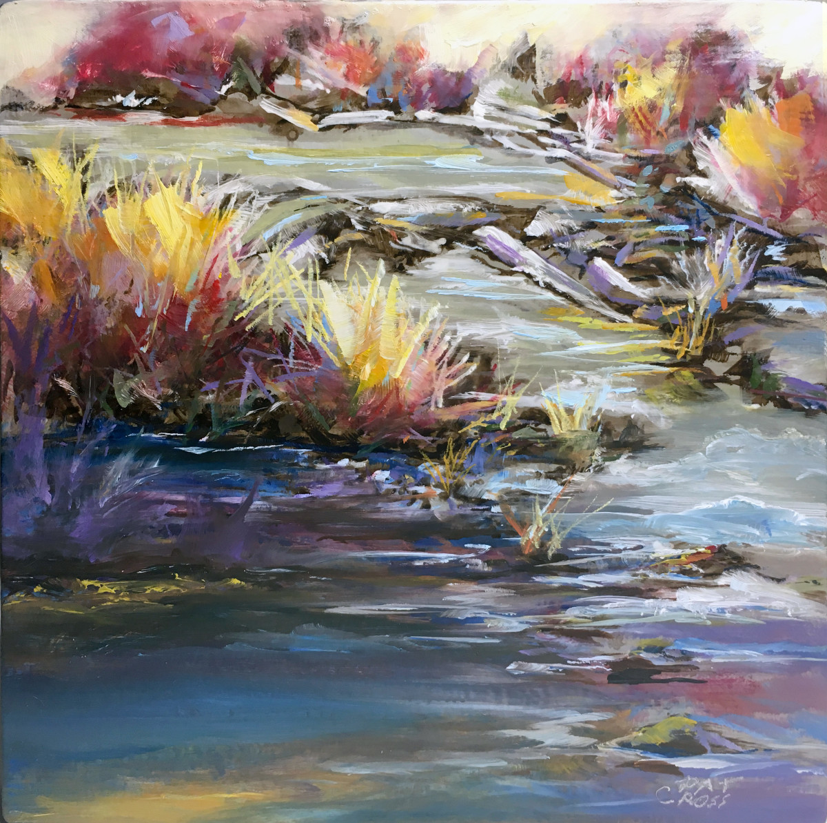 River Willows by Pat Cross
