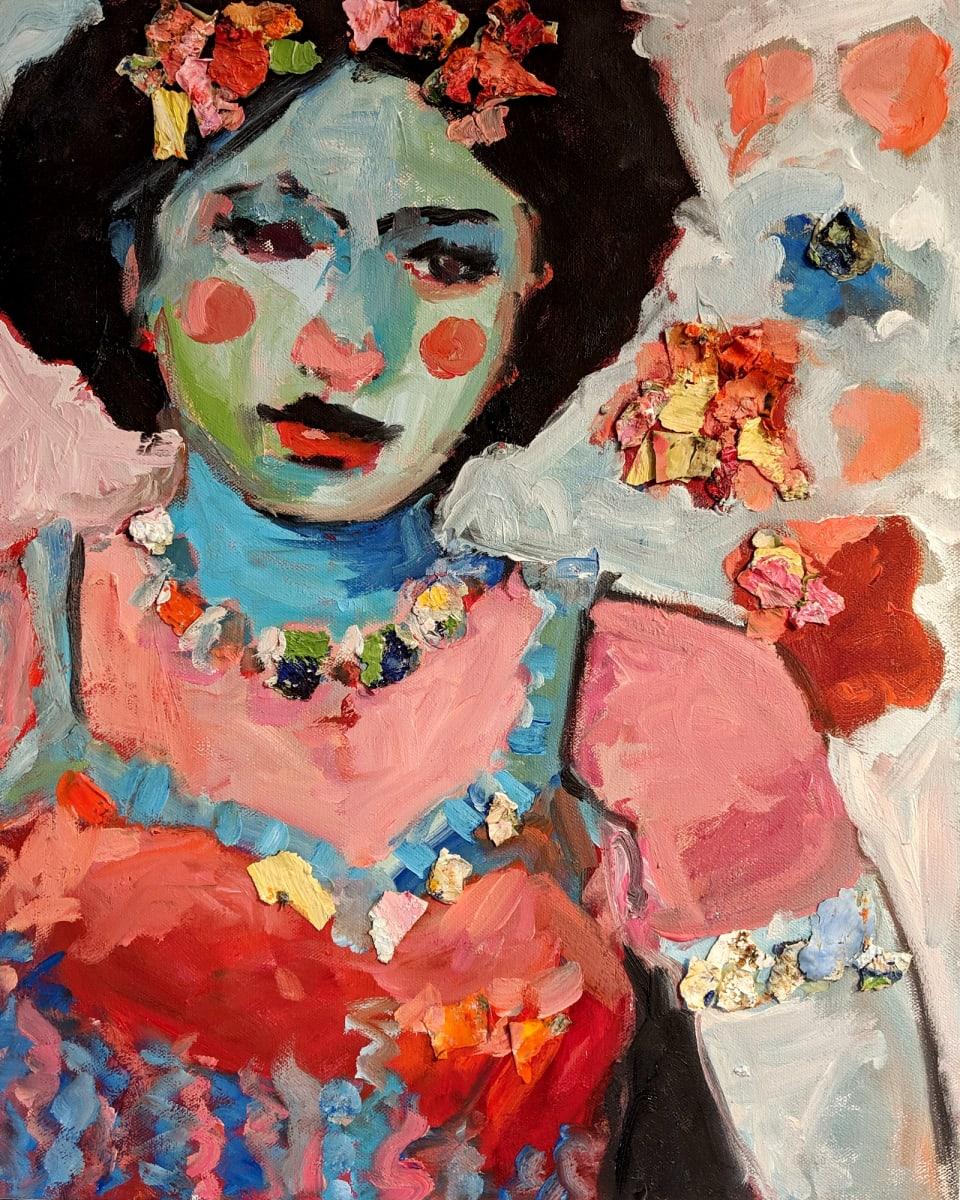 Mardi Gras Princess by Corinne Galla