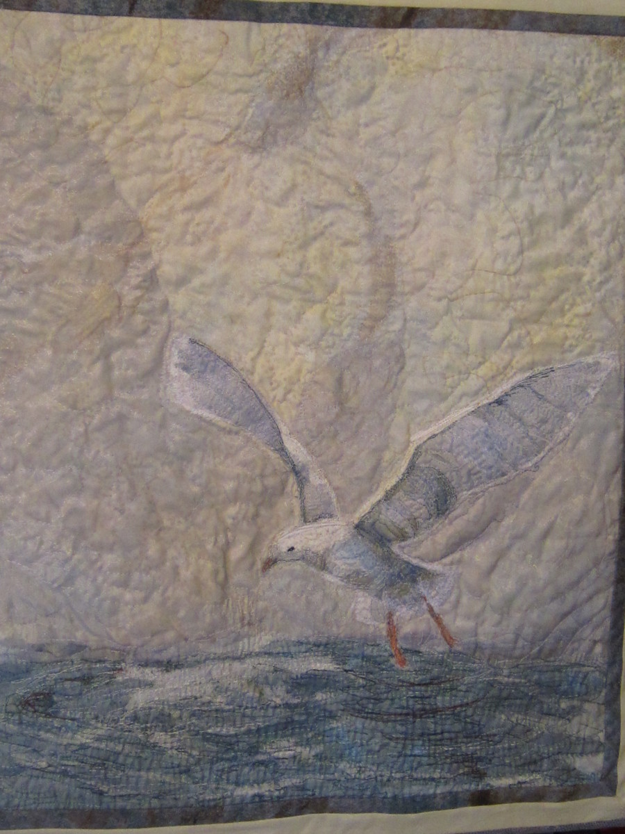 DeGarthe's Seagull by Cathy Drummond
