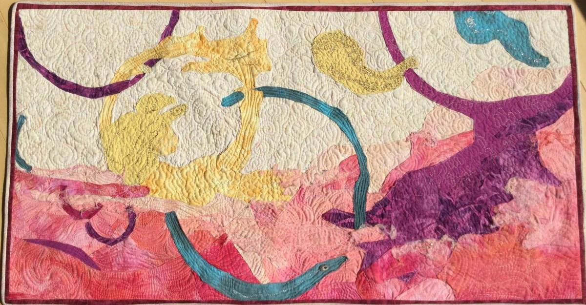 Pink Sea Dreams by Cathy Drummond