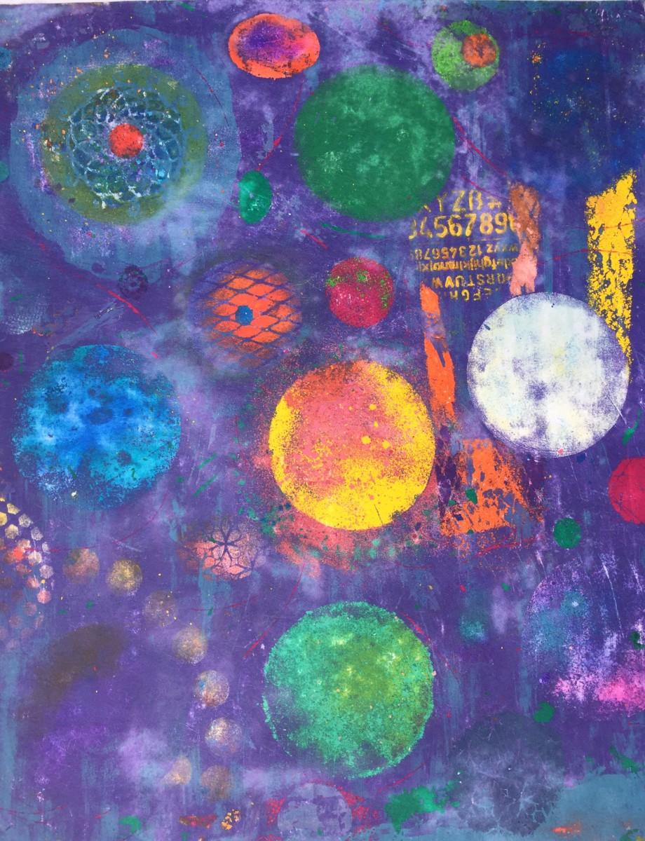 Circle Galaxy by LZ Lerman