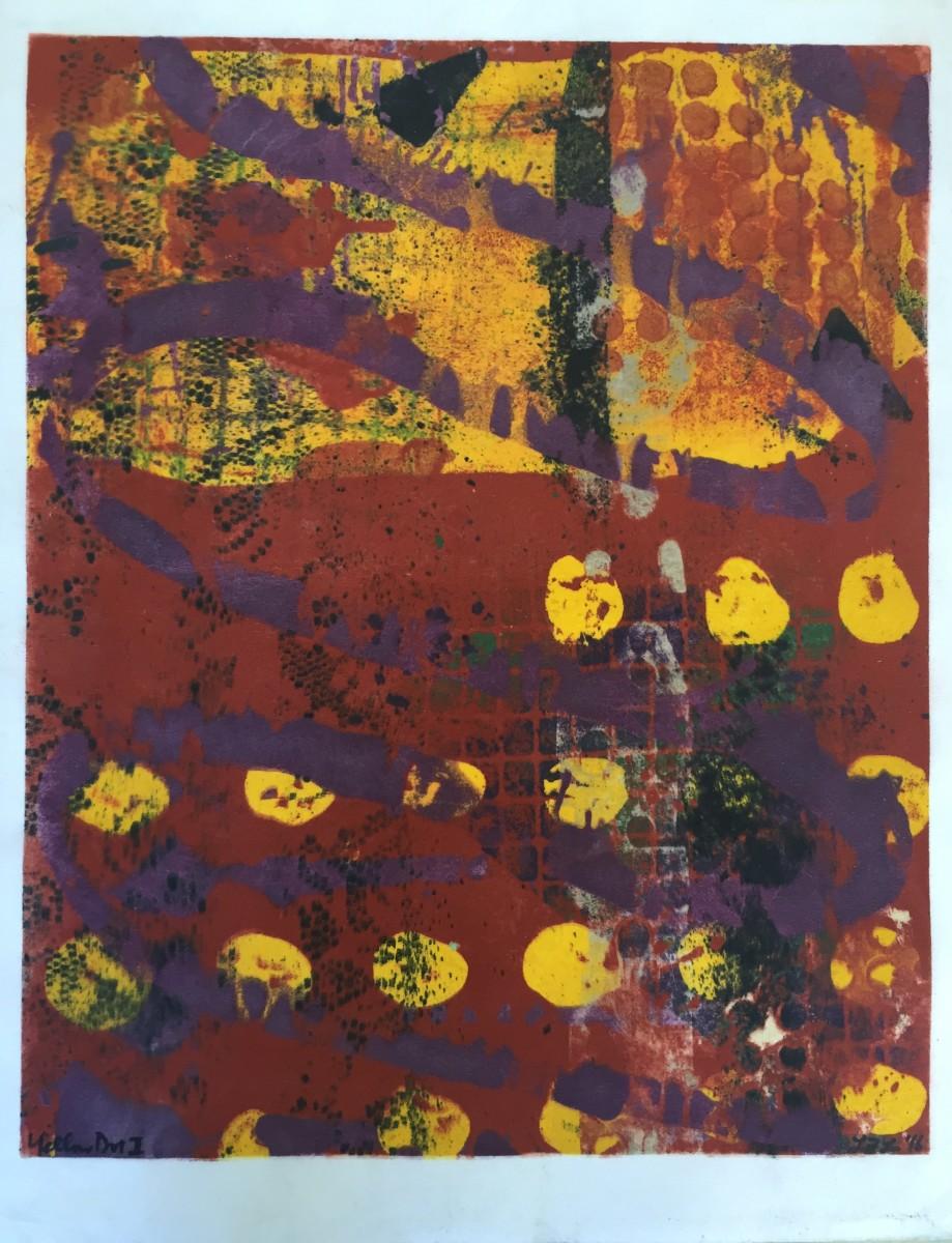 Yellow Dot I by LZ Lerman