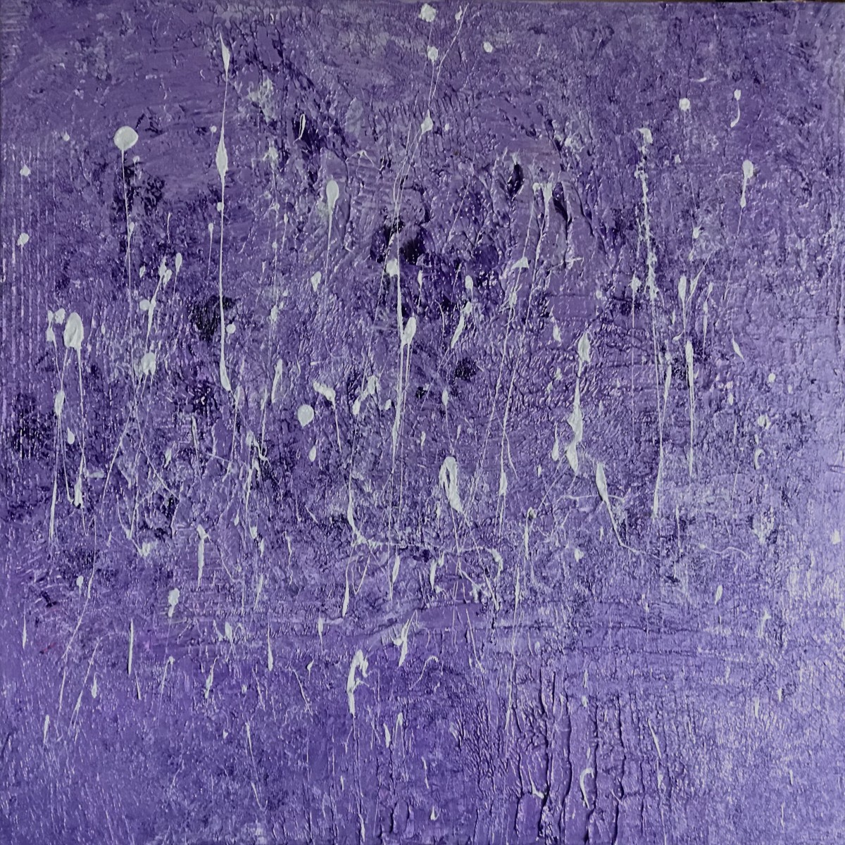 Flock: Silver/Violet