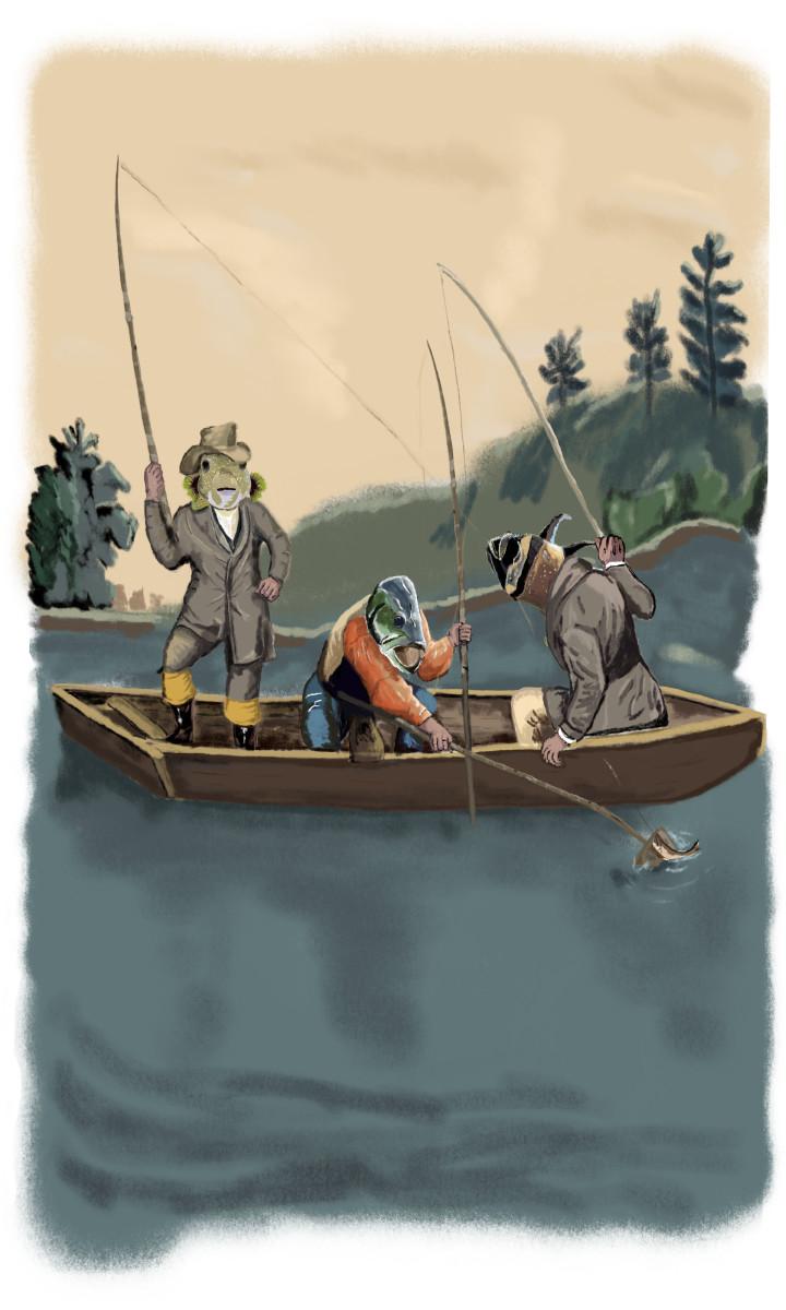 Fishermen 18x24 only