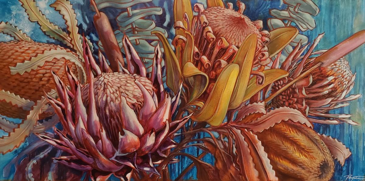 Banksia & Protea - Reach #2 by Jan Poynter