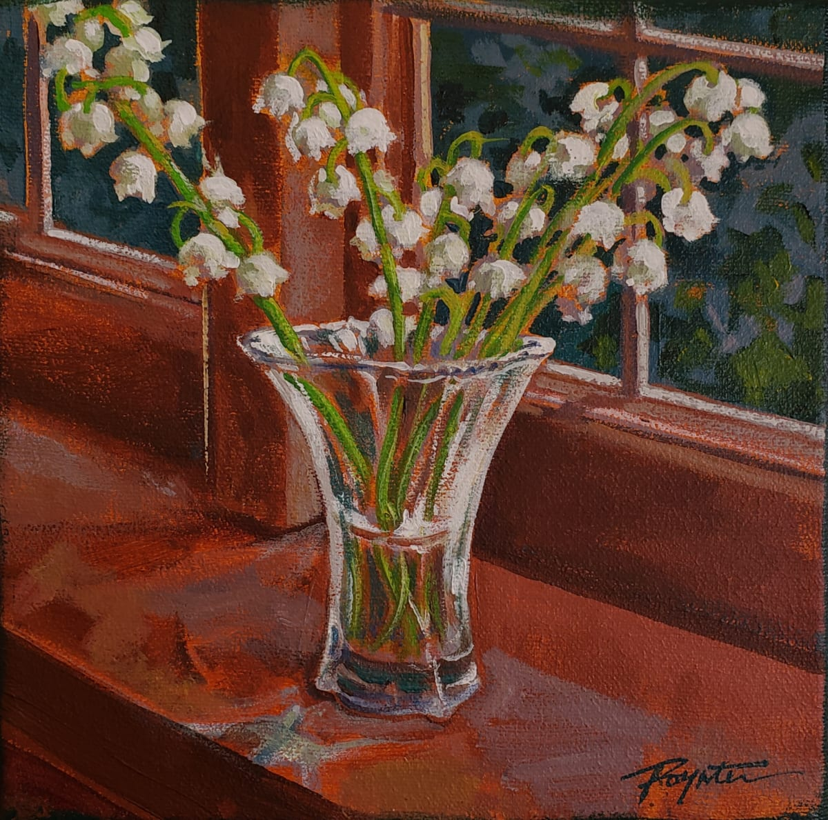 """""""Lily of the valley - May"""" by Jan Poynter"""
