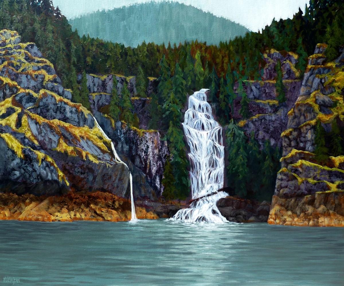 Cassel Falls,  B.C.