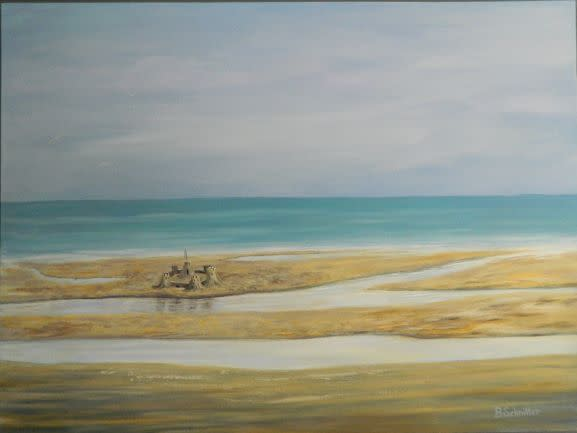 'Sand Castles' by Bonnie Schnitter