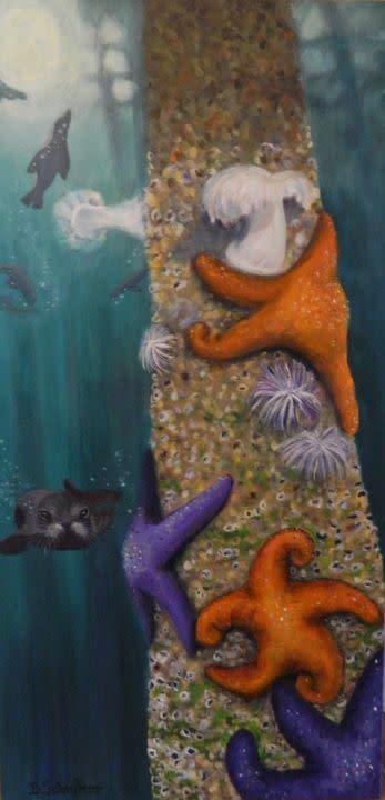 'Undersea Curiosity' by Bonnie Schnitter