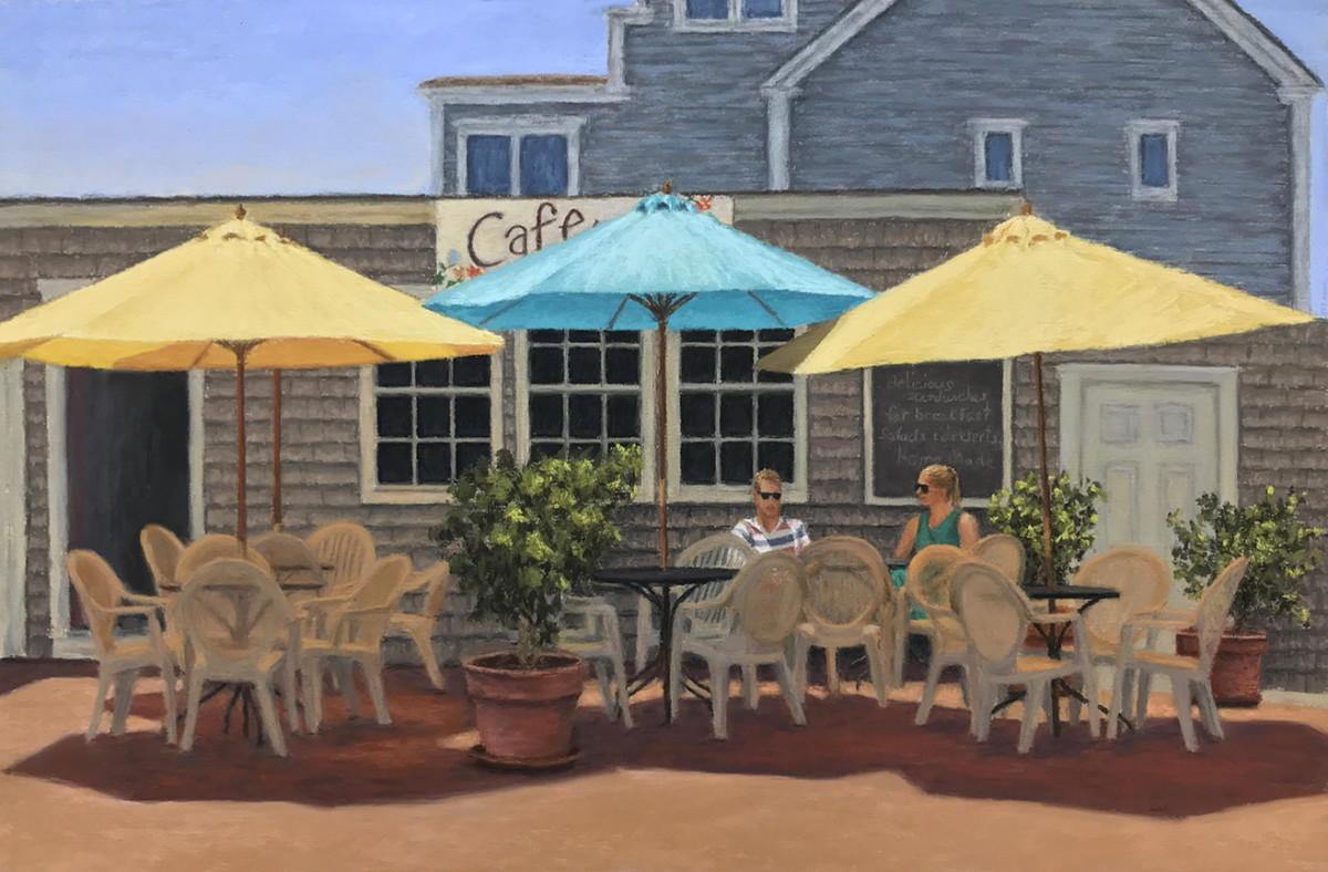 Lingering at the Cafe