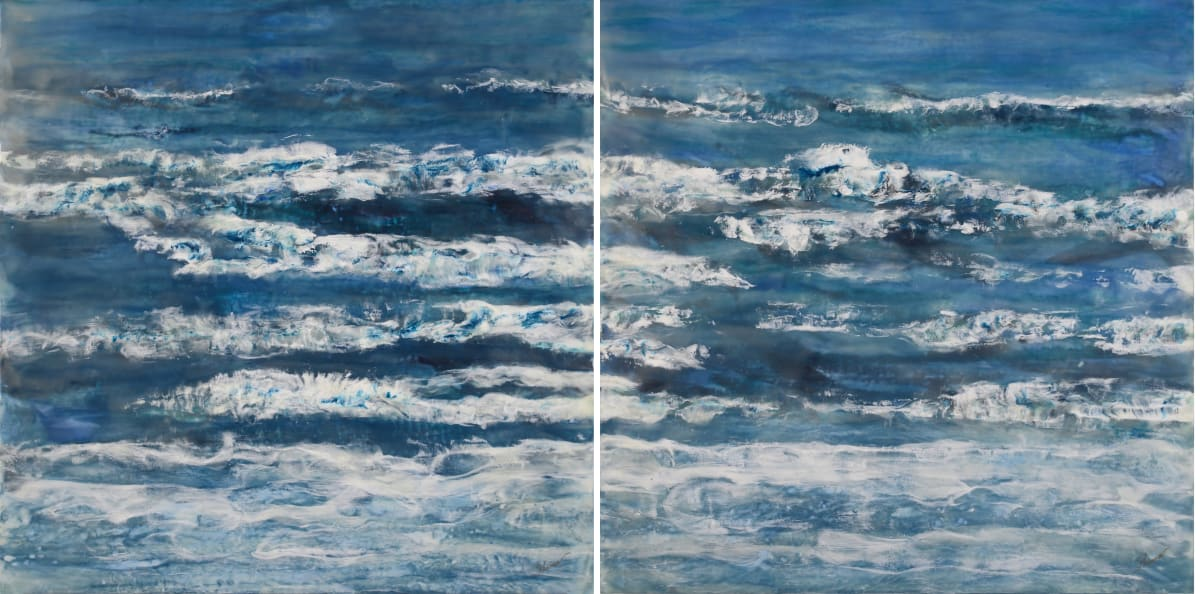 And We Dance - Diptych by Shima Shanti